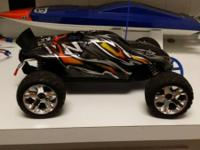 New Traxxas Jato. Bought 6 months back. Never ever over