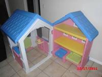 BRAND NEW NEVER USED LITTLE TYKES PLAY HOUSE WITH
