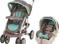 Brand new, no box, Graco Quattro Tour Deluxe travel set