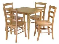 This simple Groveland dining set is perfect for any