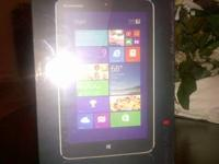 Brand New, HD LED Touchscreen Lenovo Ideapad Miix 2 8