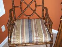 I have 3 Brand New never used Hickory Chairs with