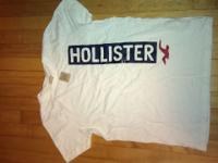 brand new never warn, never washed hollister shirt.