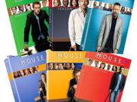I have a set of BRAND NEW House M.D. season 1,2,3,4,5,6