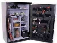 Brand new gun safe with factory cosmetic blemish. You