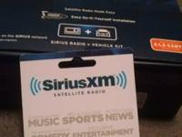 Brand new plan never ever openened the box sirius xm