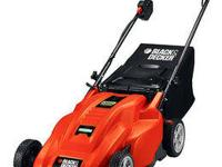 Black and Decker Cordless Lawn Mower - Brand NEW!