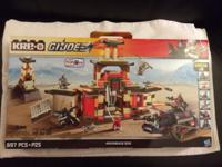 Brand new in box Kre-o Lego GI Joe Arashikage Dojo.