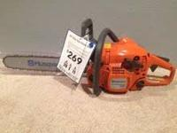 I HAVE A BRAND NEW NEW USED HUSQVARNA 435 41CC CHAINSAW