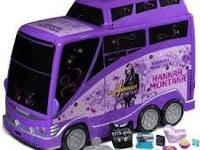 BRAND NEW IN THE BOX HANNAH MONTANA TOUR BUS VERY HARD