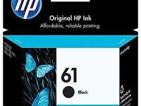 Brand new, in the box HP 61 (CH561WN) OEM Black Ink