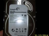 Brand New Industrial NAS Seagate 2 TB Hardrive.