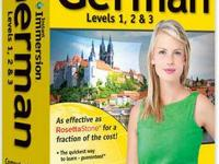 Never opened German language learning program Levels 1,