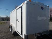 Brand New 7x14 Enclosed Trailer Fully Loaded With The