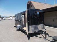 Brand New 6x14 Enclosed Trailer, Work Horse Edition