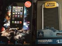 New Otterbox preserver waterproof case and new