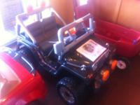 NEW and ASSEMBLED, this rad set of Power Wheels would