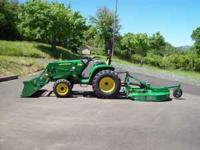 2011 John Deere tractor 3032E 32 HP, 4WD, 4 hrs,