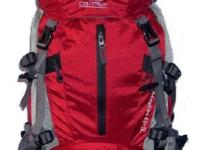 Hiking PacksRed Features: Powerful Breathable System,