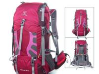 Multi-Day BackpackRed Front and top access to main