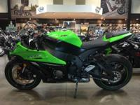 Brand new 2014 Kawasaki ZX 10 ABS in green. ZX10