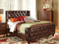 Brand New King Boomer Jacket Sleigh Bed Just $399!