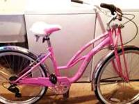 "This is a 26"" Ladies Schwinn Cruiser and it is brand"