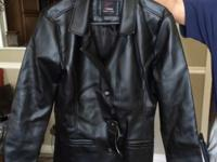 Authentic leather jacket for sale. It has never been