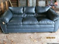Brand new genuine leather sofa purchased at Art Van