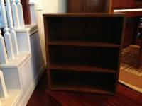 Brand name New Light Walnut color Bookcase/storage 3