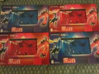 Up for sale are 4 Pokemon 3DS XLs (TWO Blue and TWO