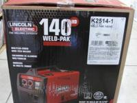 Brand new in Factory Sealed Box Lincoln Welder, never