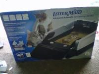 Littermaid automatic kitty litter box brand new in box,