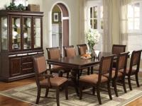 BRAND NEW DINING ROOM SUIT INCLUDES TABLE 4 SIDE CHAIRS