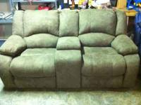 This is a brand new sage loveseat by Seminole that we
