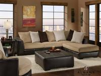 METRO SECTIONAL 3PC 799 MADE IN USA AMAZING SECTIONAL
