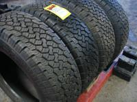 I have a set of brand new set of tires LT245/75R17 E