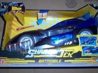 Unopened Brand New 2007 Mattel Shadowtek Batmobile.