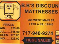 ALL BRAND NEW MATTRESS SETS....ALL SIZES....ALL