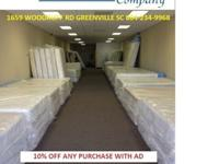 Greenville Mattress Co.Brand New Mattress sets - at