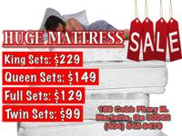 BRAND NEW! Bed mattress Sets and Furniture marked down