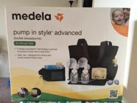 Brand New Medela Pump In Style Advanced Breast Pump.