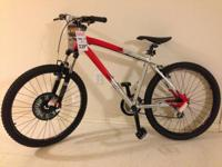 New, never ridden Diamondback Response aluminum framed
