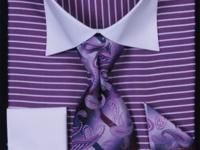 YOU GET THE SHIRT, THE TIE, HANKY AND CUFFLINKS FOR $40