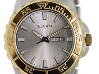 FACTORY/BRAND NEW ELGIN MENS DRESS/SPORT WATCH. WITH