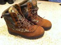Northwest territory brand mens hunting/ hiking boots.