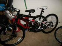 Here is a brand new 26in mens mountain bike!!!!!! Has