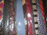 I have between 400 & 500 Brand New Name Brand Ties. A