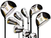 BRAND NEW RIGHT HAND WILSON PROSTAFF DSG GOLF CLUB SET.