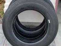 Brand New Never Used Michelin Truck Tires XZE 235 / 80